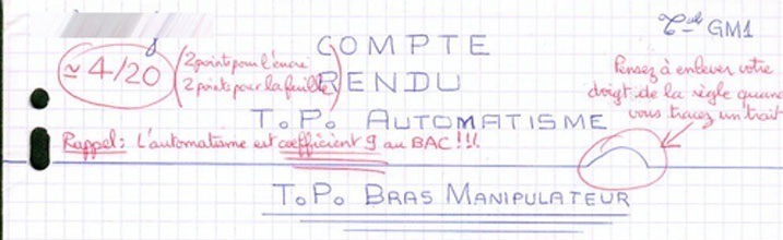 corrections bic rouge