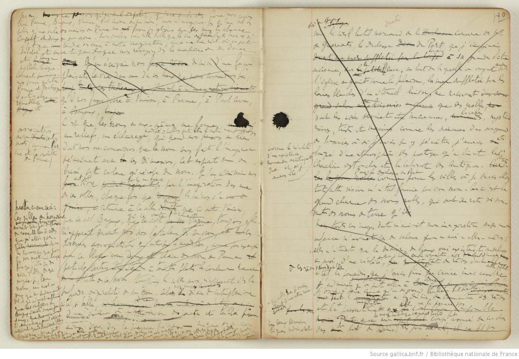 Carnets de Marcel Proust