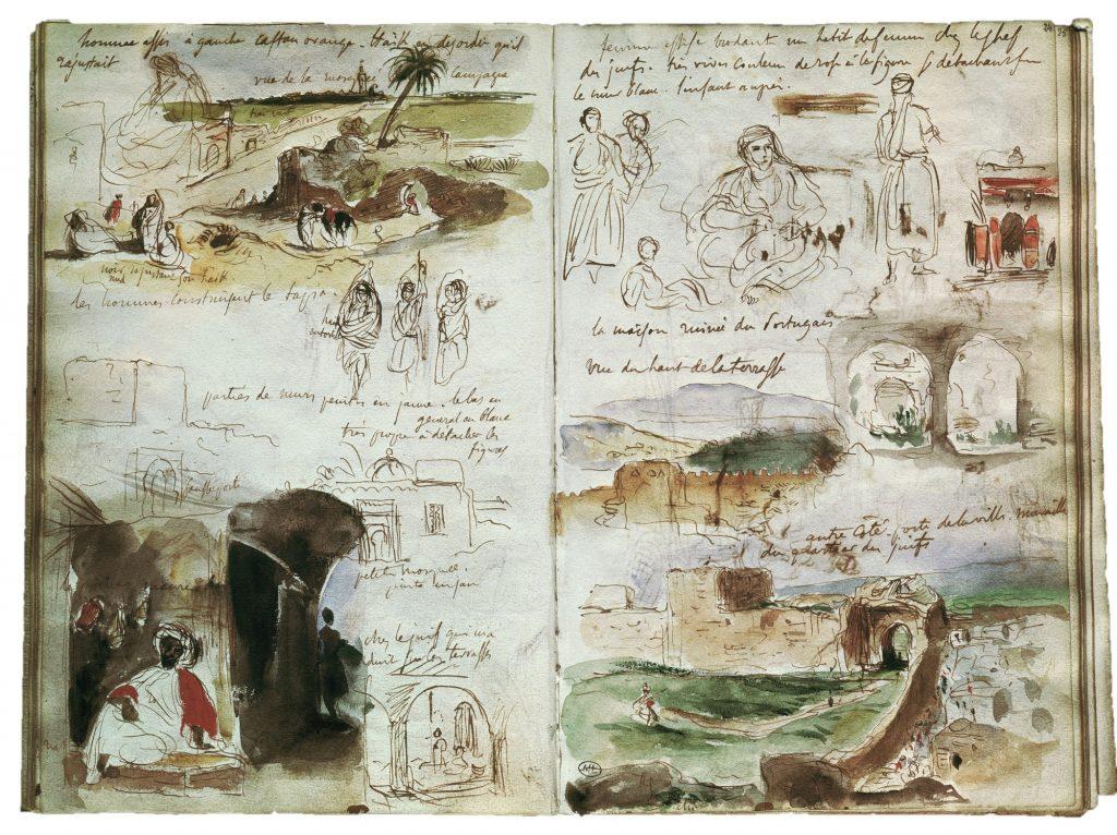 Carnets de voyage Eugène Delacroix